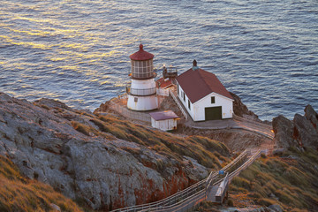 Historic Point Reyes Lighthouse, Point Reyes National Seashore, California, United States of America, North America