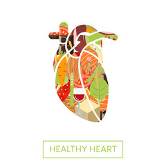 Food for healthy heart