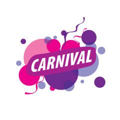 Abstract logo carnival