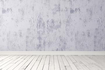 Blank bright room