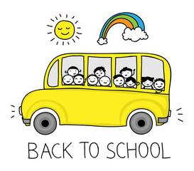 School bus doodle