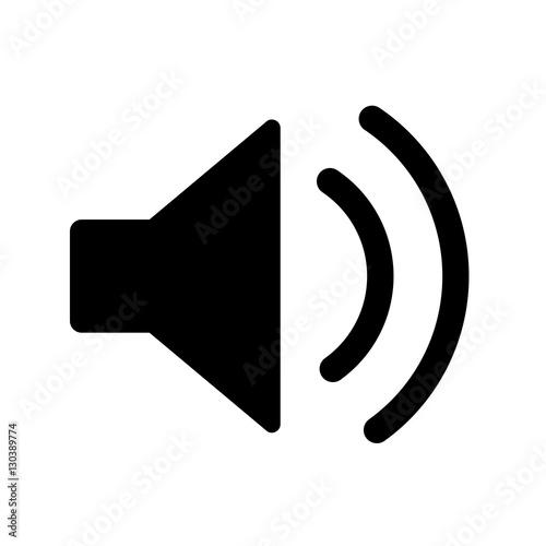 Lautsprecher Symbol\