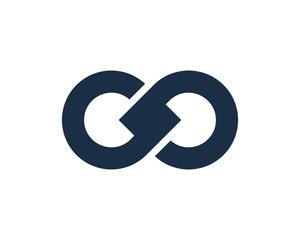 Letter G Infinity Logo Design Template Element