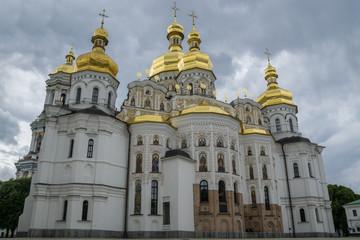 Foto op Aluminium Kiev Uspenskiy Orthodox Cathedral, Kiev Pechersk Lavra, Ukraine