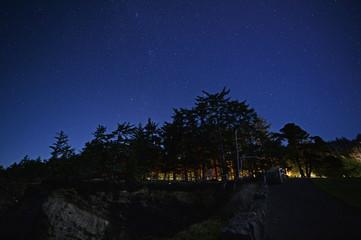 Starscape from Shore Acres Oregon