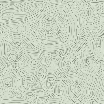 Earth relief map seamless pattern element. Generated conceptual elevation vector.