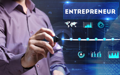 Technology, Internet, business and marketing. Young business per