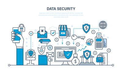 Security, data integrity, deposits, guarantee