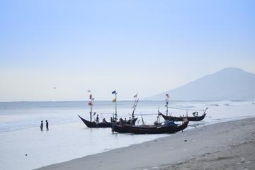 Maungmakan beach, Dawei, Tanintharyi, Myanmar (Burma), Southeast Asia