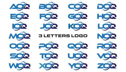 3 letters modern generic swoosh logo  AOQ, BOQ, COQ, DOQ, EOQ, FOQ, GOQ, HOQ, IOQ, JOQ, KOQ, LOQ, MOQ, NOQ, OOQ, POQ, QOQ, ROQ, SOQ, TOQ, UOQ, VOQ, WOQ, XOQ, YOQ, ZOQ