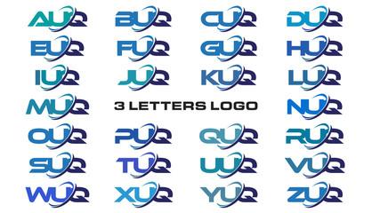 3 letters modern generic swoosh logo  AUQ, BUQ, CUQ, DUQ, EUQ, FUQ, GUQ, HUQ, IUQ, JUQ, KUQ, LUQ, MUQ, NUQ, OUQ, PUQ, QUQ, RUQ, SUQ, TUQ, UUQ, VUQ, WUQ, XUQ, YUQ, ZUQ