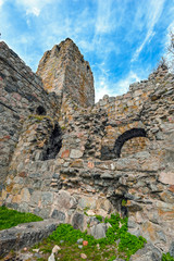 Ruins of St. Olof's Church in Sigtuna