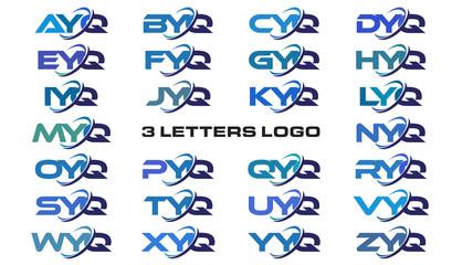 3 letters modern generic swoosh logo  AYQ, BYQ, CYQ, DYQ, EYQ, FYQ, GYQ, HYQ, IYQ, JYQ, KYQ, LYQ, MYQ, NYQ, OYQ, PYQ, QYQ, RYQ, SYQ, TYQ, UYQ, VYQ, WYQ, XYQ, YYQ, ZYQ