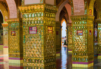 Sutaungpyei Pagoda, Mandalay Hill, Myanmar (Burma), Asia