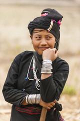 Portrait of Enn woman, Shan State, Myanmar