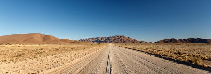 Desert Highway at Sossusvlei, Namibia