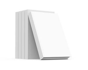 3D rendering books mockup