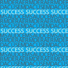 success text pattern background