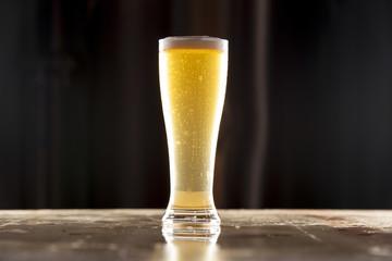Tall Pilsner Lager Beer Centered
