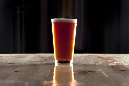 Pint of Amber Beer