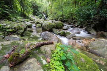 Pitukoo beautiful waterfall (Heart Waterfall) at Tak, Thailand..