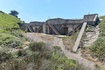 Abadoned military bunker