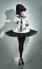 Sensuality ballerina