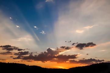 Sunset Skies on the horizon