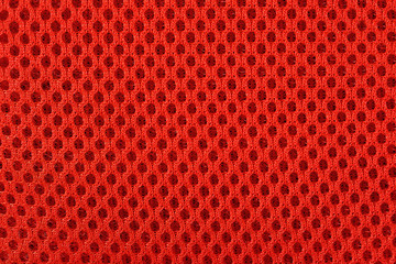 Orange nonwoven fabric background texture