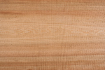 Top view on wooden texture larch slab.
