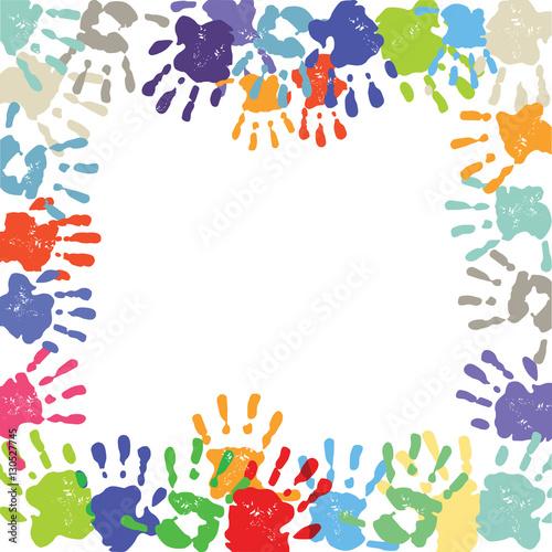 Quot Kinder Handabdruck Quot Stockfotos Und Lizenzfreie Vektoren