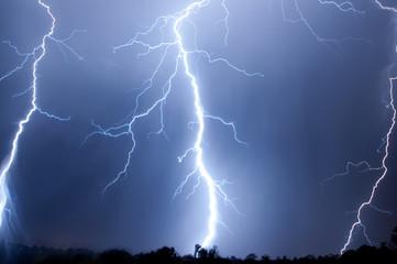 Big Bang Cloud to Ground Lightning