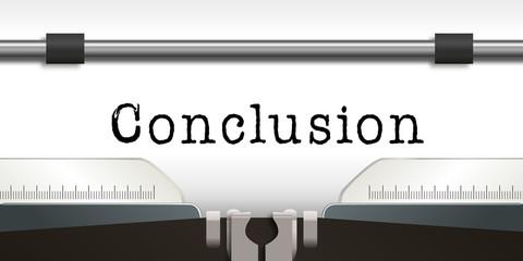 Conclusion - Machine à Ecrire - Thèse - Livre