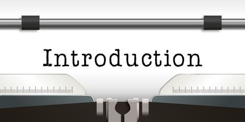 Introduction - Machine à Ecrire - Thèse - Livre