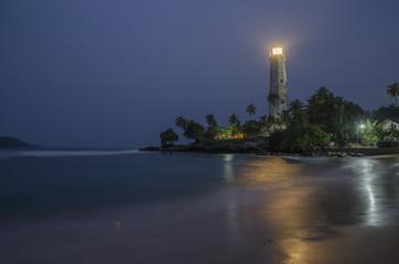 Lighthous at Sri Lanka Coast