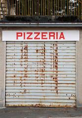 closed Italian pizzeria