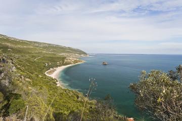 Arrabida Mountain and Portinho Beach
