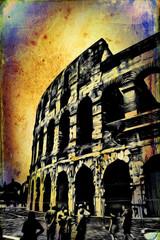 Great antique Rome - Coloseum