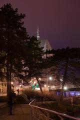 Goerlitz city at night