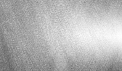 Sheet metal silver solid black background Wall mural