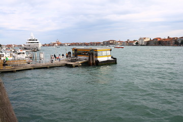 Giudecca- Kanal, Venedig