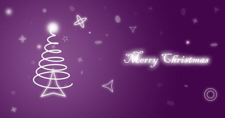 Merry Christmas High Resolution Wallpaper