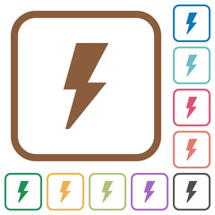 Flash simple icons