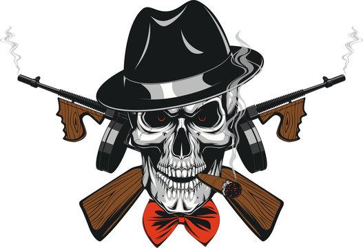 Gangster Skull mafia