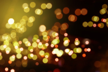 The beautiful of Bokeh and Light.