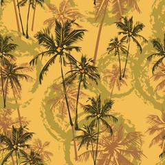 tropical palms pattern