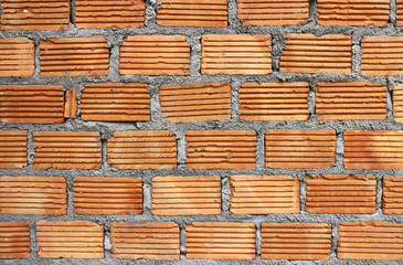 Red Brick Wall Background Texture