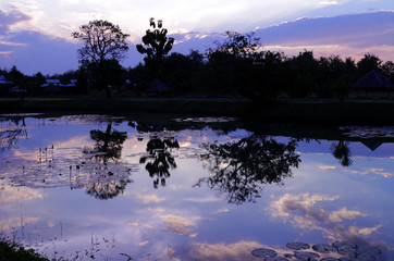Scenery of Countryside Twilight