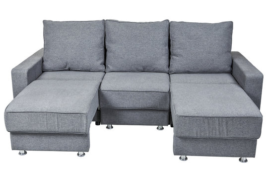 Fabric Sofa Bed with color grey