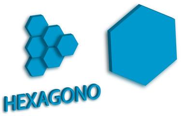 Logotipo de hexágono